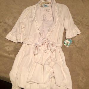 Betsey Johnson Bride Robe & Pajama Set
